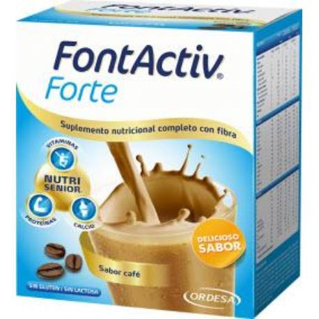 comprar FONTACTIV FORTE 14 SOBRES SABOR CAFE ORDESA