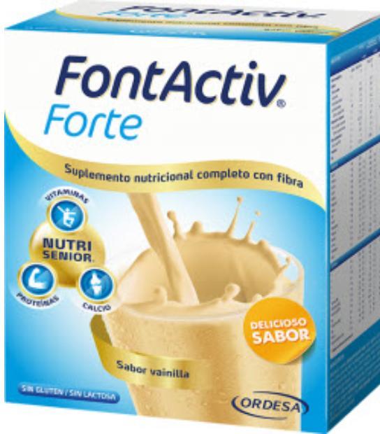 comprar FONTACTIV FORTE 14 SOBRES SABOR VAINILLA ORDESA