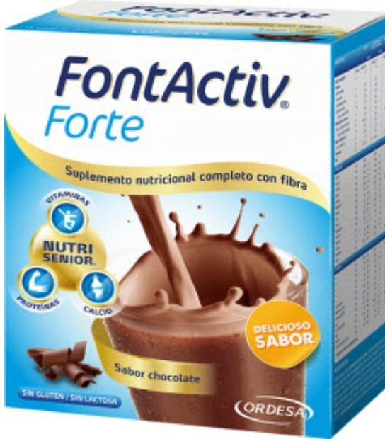 FONTACTIV FORTE 14 SOBRES SABOR CHOCOLATE ORDESA