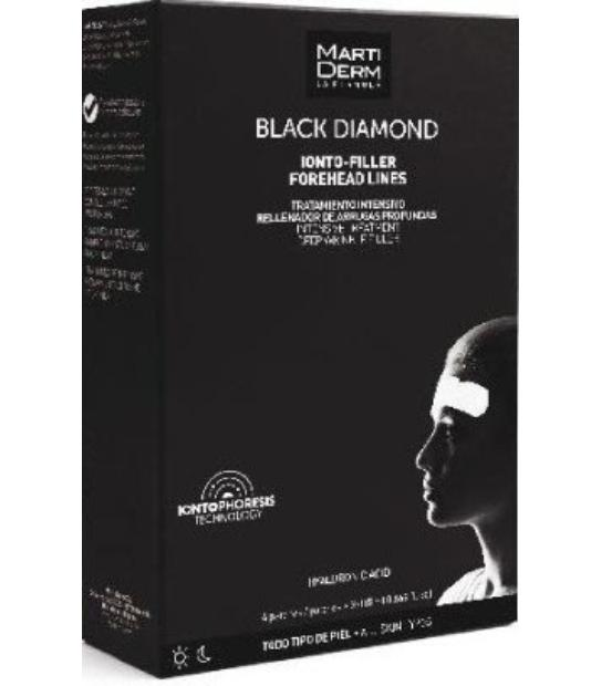 comprar MARTIDERM BLACK DIAMOND IONTO-FILLER LINEAS DE LA FRENTE (FOREHEAD LINES) 4 PARCHES