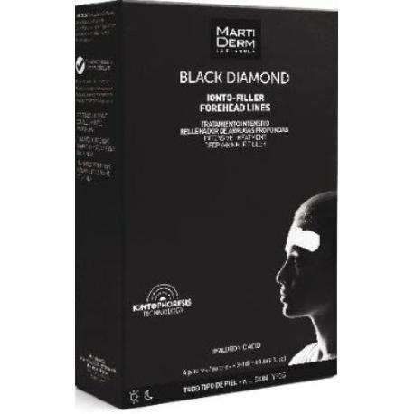 comprar MARTIDERM BLACK DIAMOND IONTO-FILLER LINEAS DE LA FRENTE (FOREHEAD LINES) 4 PARCHES