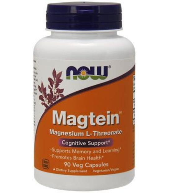 comprar NOW FOODS MAGTEIN MAGNESIO L-THREONATE 90 CAPSULAS VEGETALES