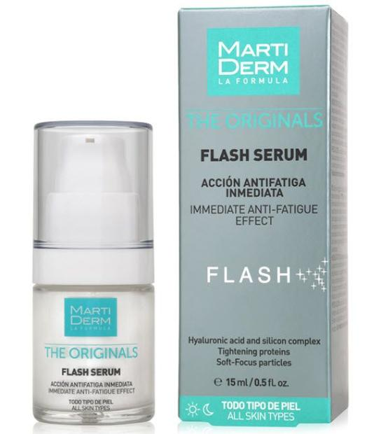 MARTIDERM FLASH SERUM M THE ORIGINALS ACCION ANTIFATIGA INMEDIATA TODO TIPO DE PIEL
