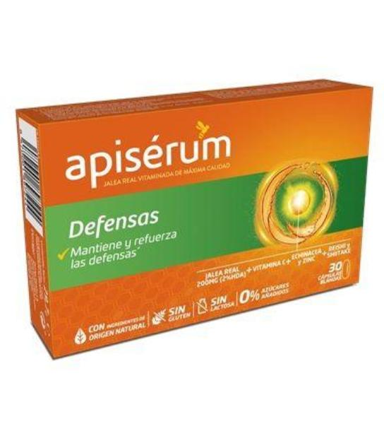 comprar APISERUM DEFENSAS 30 CAPSULAS BLANDAS