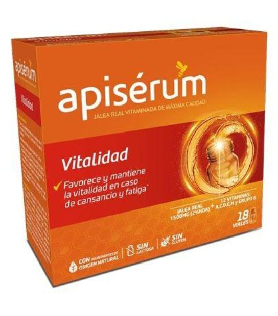 comprar APISERUM VITALIDAD 18 VIALES