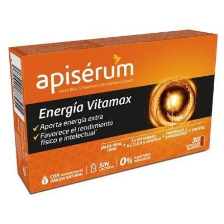 comprar APISERUM ENERGIA VITAMAX 30 CAPSULAS BLANDAS