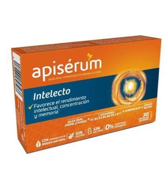 comprar APISERUM INTELECTO 30 CAPSULAS BLANDAS