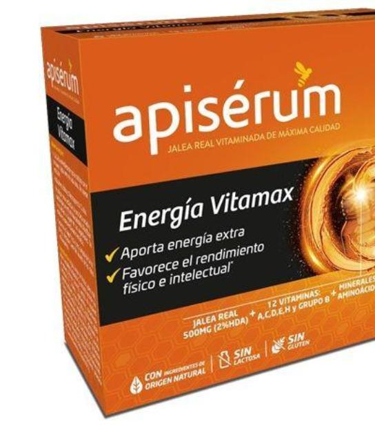 comprar APISERUM ENERGIA VITAMAX 18 VIALES