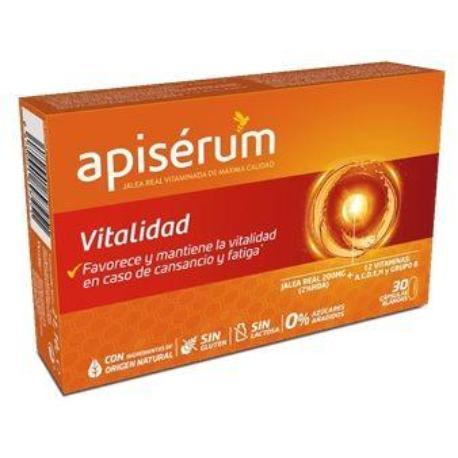 comprar APISERUM VITALIDAD 30 CAPSULAS BLANDAS