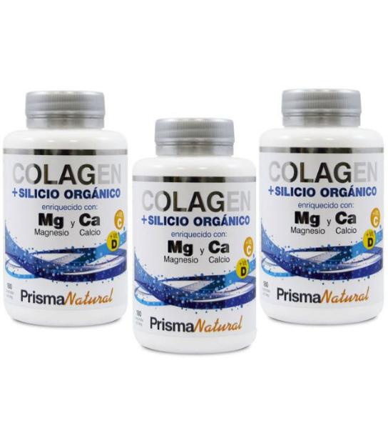 Comprar PACK 2+1 COLAGENO 180 TABLETAS PRISMA NATURAL en Far...