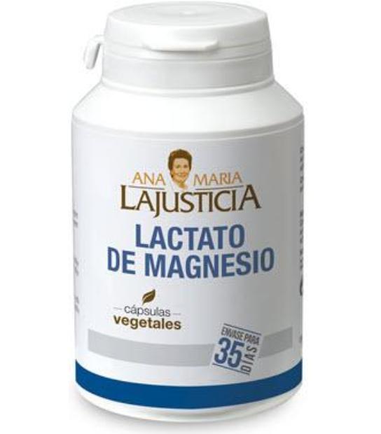 LACTATO DE MAGNESIO 105 CAPSULAS VEGETALES ANA MARIA LA JUSTICIA