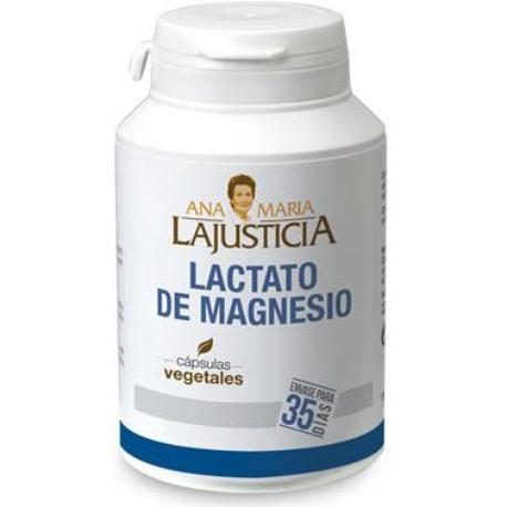 comprar LACTATO DE MAGNESIO 105 CAPSULAS VEGETALES ANA MARIA LA JUSTICIA