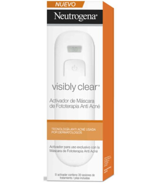 VISIBLY CLEAR ACTIVADOR DE MASCARA FOTOTERAPIA ANTI-ACNE NEUTROGENA