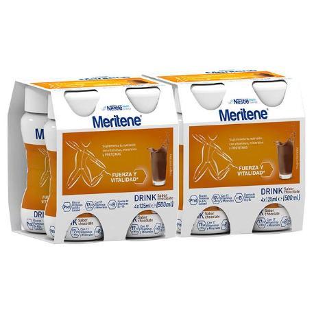 comprar PACK 2U. MERITENE DRINK CHOCOLATE (8U). En farmadina.com
