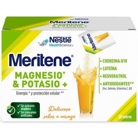 comprar MERITENE REGENERIS 20 SOBRES SABOR NARANJA. En farmadina.com