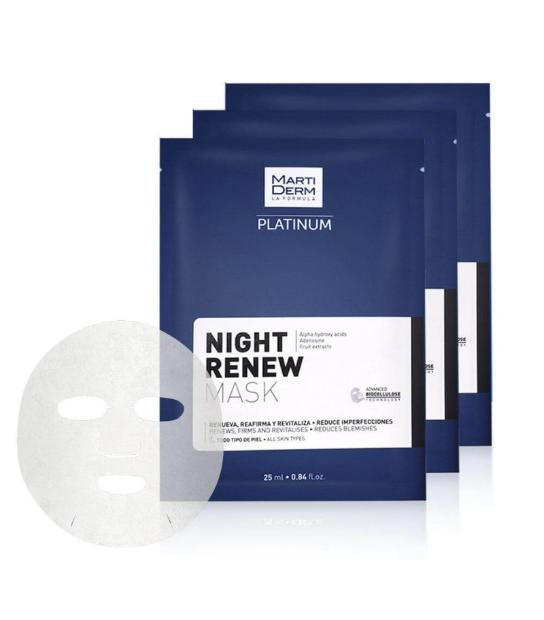 COMPRAR MARTIDERM NIGHT RENEW MASK 10U