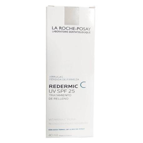 Comprar REDERMIC C UV SPF 25 TRATAMIENTO DE RELLENO 40 ML LA ROCHE POSAY