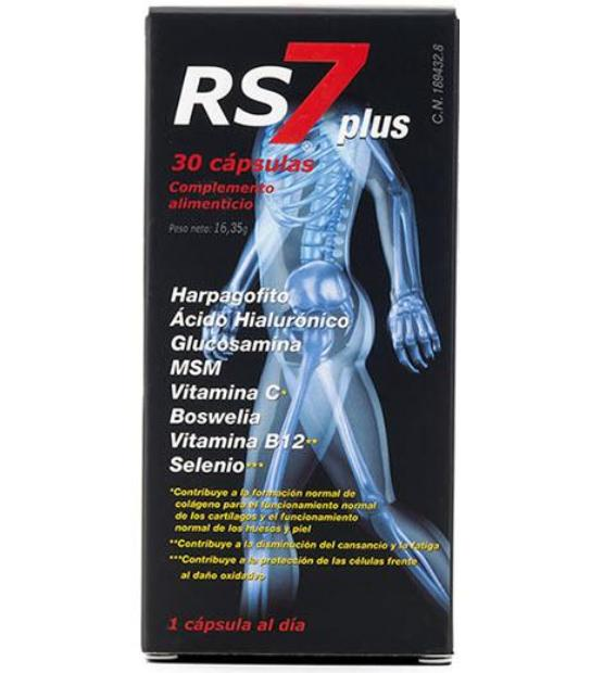 comprar RS7 PLUS 30 CAPSULAS