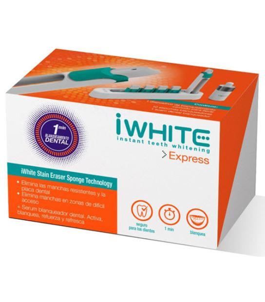 IWHITE EXPRESS KIT BLANQUEAMIENTO DENTAL 1 MINUTO