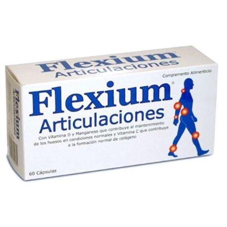 Comprar: FLEXIUM ARTICULACIONES 60 CAPSULAS MAS 25 POR CIENTO , Far...