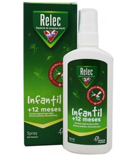 comprar SPRAY ANTIMOSQUITO INFANTIL +12 MESES 100ML RELEC