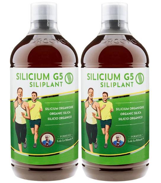 PACK 2 G5 SILIPLANT SILICIO ORGANICO 1 LITRO G5 SILICIUM BIO