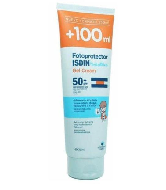 Comprar ISDIN FOTOPROTECTOR PEDIATRICS SPF 50 GEL CREAM 250 ML + 100 ML