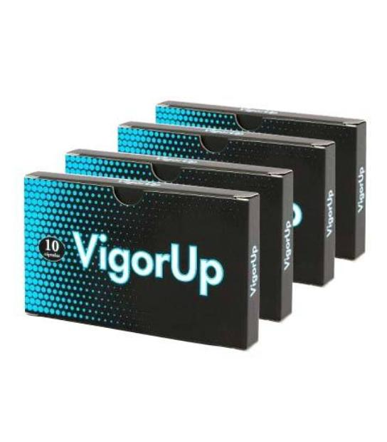 PACK 4 U. VIGOR UP 10 CAPSULAS