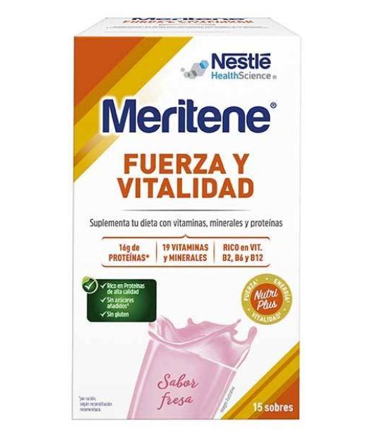 Comprar: MERITENE FRESA 15 SOBRES, Farmadina.com