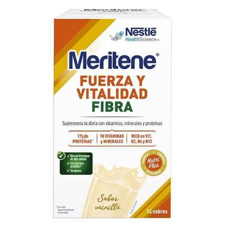 Comprar: MERITENE VAINILLA FIBRA 14 SOBRES
