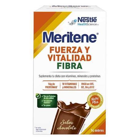 Comprar: MERITENE CHOCOLATE FIBRA 14 SOBRES, Farmadina.com