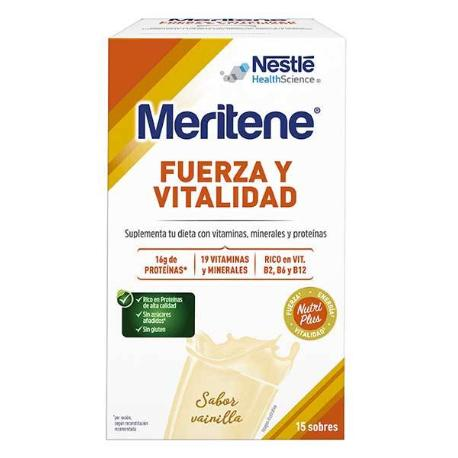 Comprar: MERITENE VAINILLA 15 SOBRES, Farmadina.com