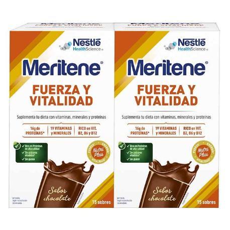 Comprar: MERITENE CHOCOLATE 15 SOBRES, Farmadina.com