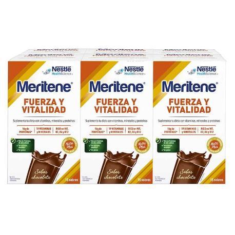 COMPRAR MERITENE CHOCOLATE 15 SOBRES