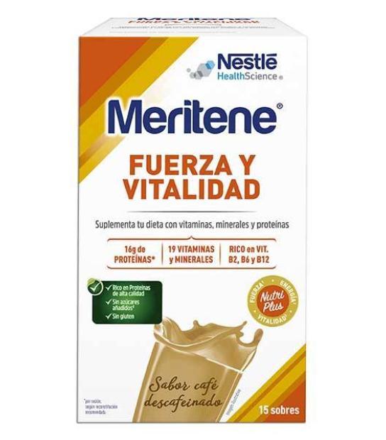 Comprar: MERITENE CAFE DESCAFEINADO 15 SOBRES, Farmadina.com