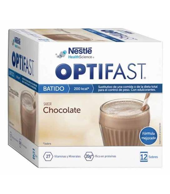 Comprar: OPTIFAST BATIDO DE CHOCOLATE 12 SOBRES, Farmadina.com