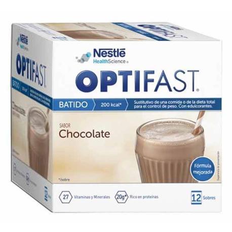 Comprar: OPTIFAST BATIDO DE CHOCOLATE 12 SOBRES, Farmadina.com