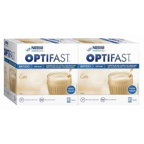 COMPRAR DUPLO OPTIFAST CAFE 12+12 SOBRES aprovecha la mejor oferta del mercado