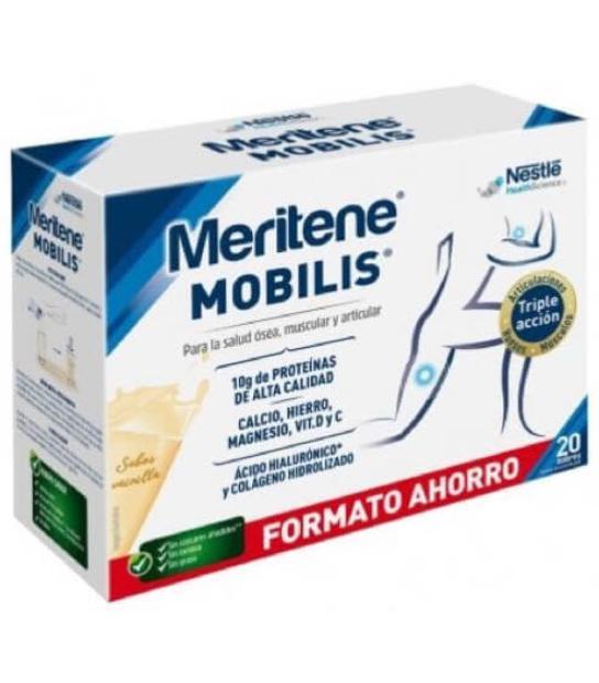 MERITENE MOBILIS SABOR VAINILLA 20 SOBRES