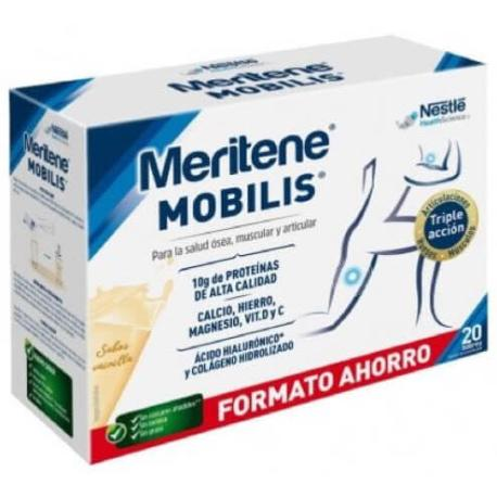 comprar MERITENE MOBILIS SABOR VAINILLA 20 SOBRES.