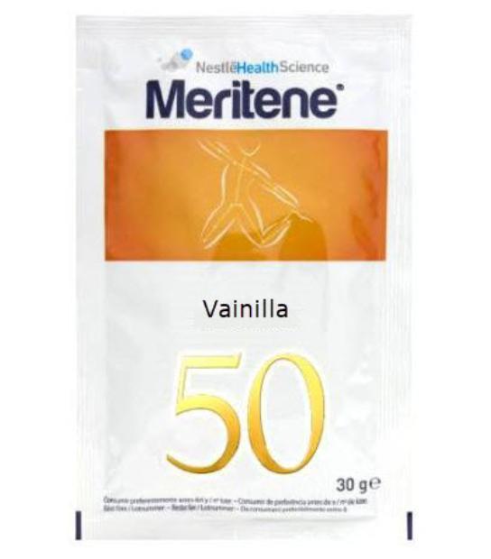 MERITENE VAINILLA 50 SOBRES