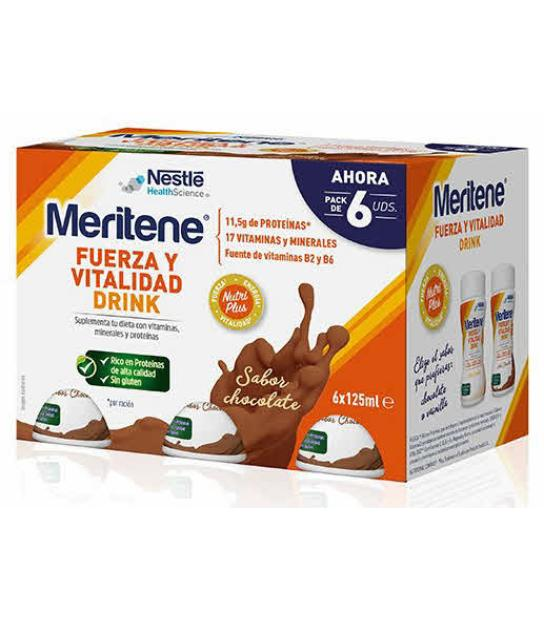 MERITENE DRINK (ACTIV) CHOCOLATE 6U.