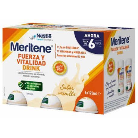 MERITENE DRINK (ACTIV) VAINILLA 6 U.