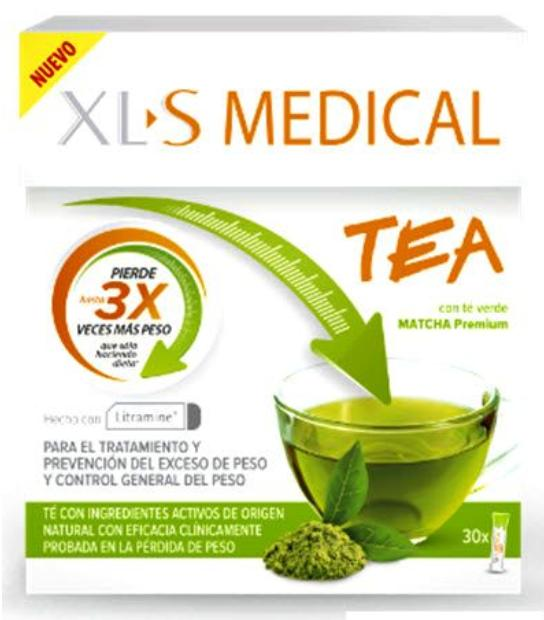 XLS MEDICAL TEA VERDE MATCHA 30 SOBRES