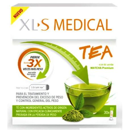 COMPRAR XLS MEDICAL TEA VERDE MATCHA 30 SOBRES