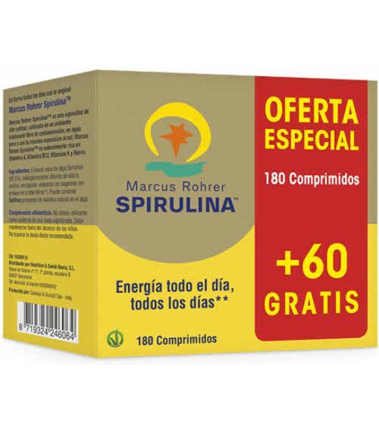 SPIRULINA 180 TABLETAS PACIFICA HAWAIANA Marcus Rohrer(Espirulina)