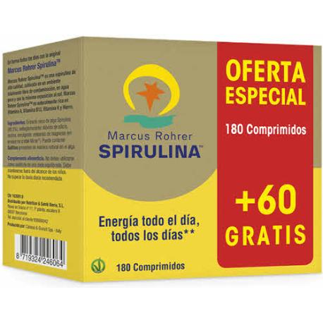 Comprar SPIRULINA 180 TABLETAS PACIFICA HAWAIANA Marcus Rohrer(Espi...