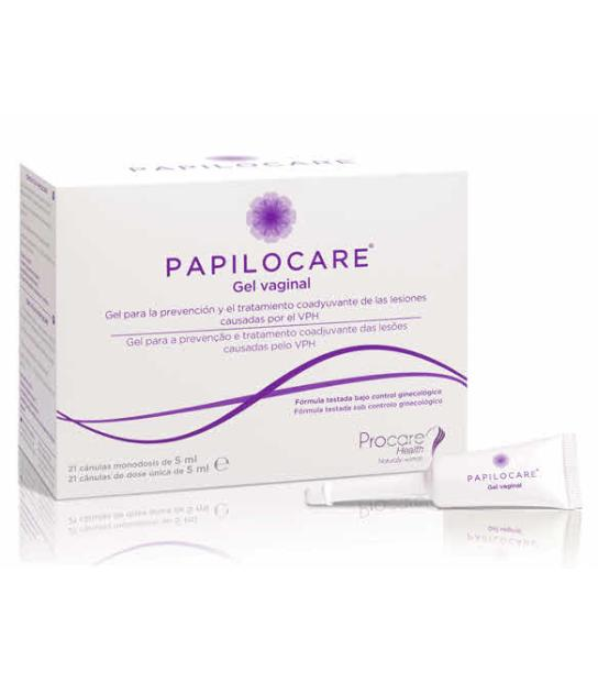 PAPILOCARE GEL VAGINAL 21 CANULAS 5 ML
