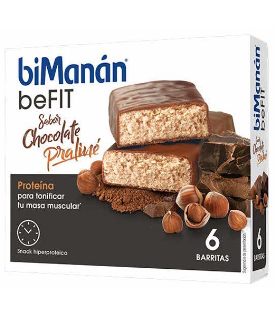 BIMANAN BEFIT PRALINE 6 BARRITAS (ANTES PRO)