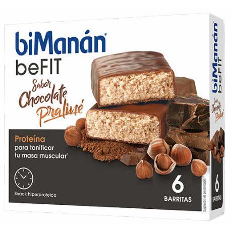 Comprar BIMANAN BEFIT PRO PRALINE 6 BARRITAS